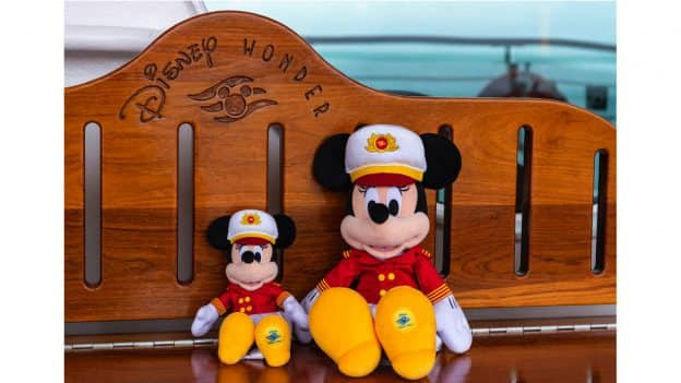 Captain Minnie Plush Toys