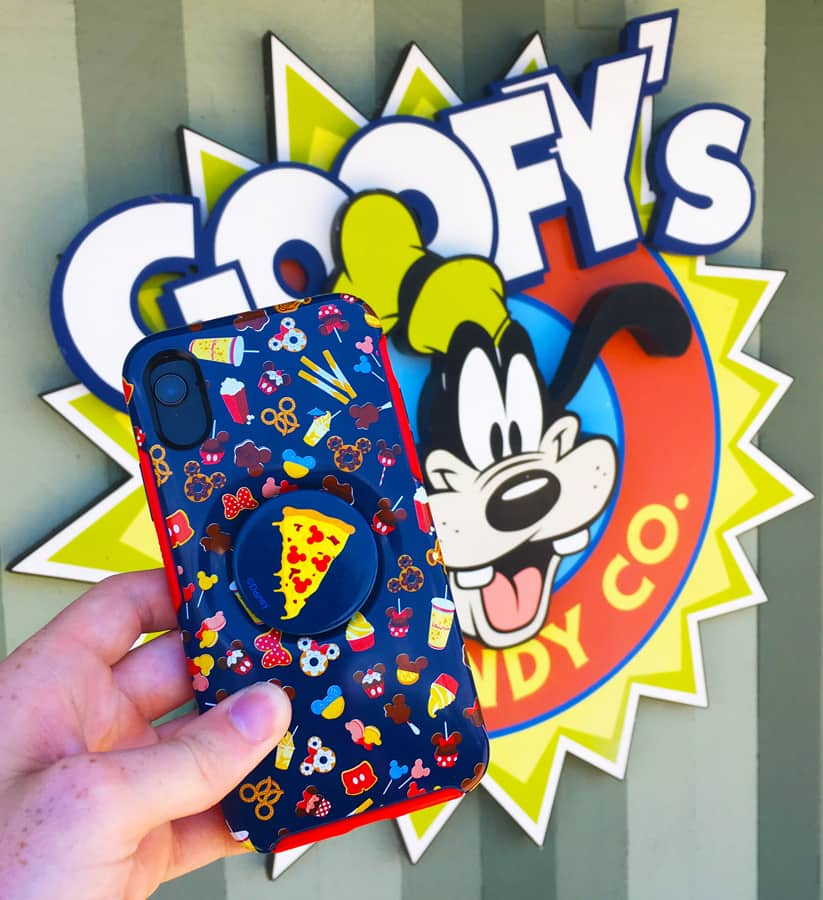 Disney D-Lish Otterbox for iPhone X or Xs with integrated Popsocket