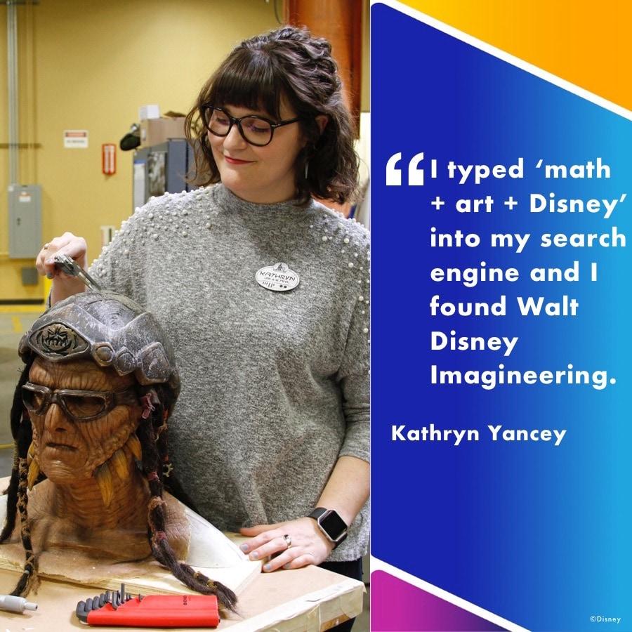 Kathryn Yancey, Show Mechanical Engineer at Walt Disney Imagineering