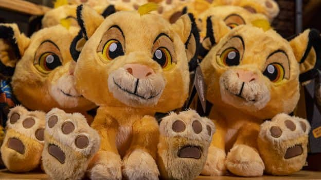 Simbe plush at Disney's Animal Kingdom
