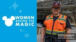 Kristina Dewberry, Construction Manager for Star Wars: Galaxy's Edge at Disneyland Resort