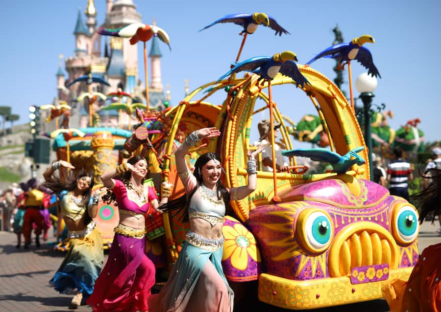 """""""The Lion King: Rhythms of the Pride Lands"""" at Disneyland Park"""