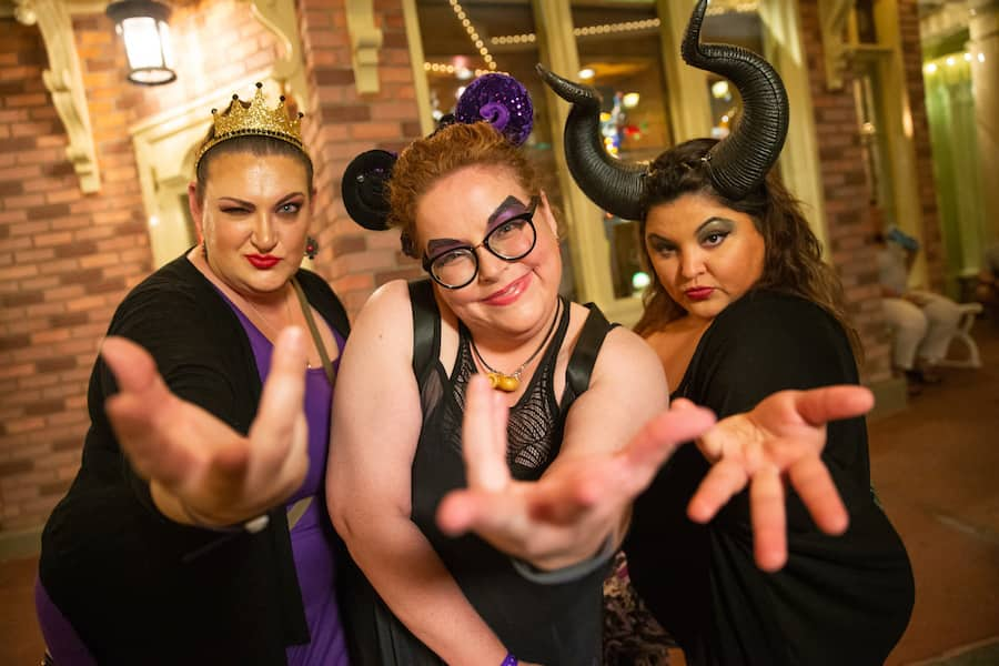 Guests Show Off Their Sinister Sides During Disney Villains After Hours Walt Disney World Special Events
