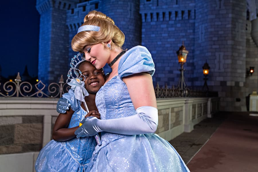 Guest with Cinderella at Magic Kingdom Park Walt Disney World Special Events