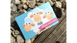 Bo Peep's Sheep on a Disney Gift Card