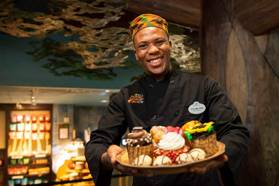 Culinary Cultural Representative Phumlani David Thabethe from The Mara at Disney's Animal Kingdom Lodge