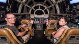 1 Millionth Rider on Millennium Falcon: Smugglers Run