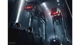 Rendering of Star Wars: Rise of the Resistance attraction