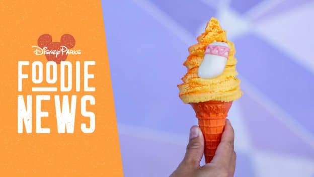 Magic Kingdom Park Foodie News: July 2019 featuring the 2319 Cone from Auntie Gravity's Galactic Goodies at Magic Kingdom Park