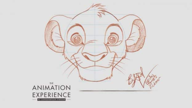 Learn To Draw Simba From The Lion King Disney Parks Blog