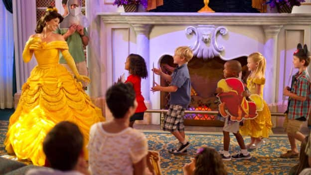 Belle and kids