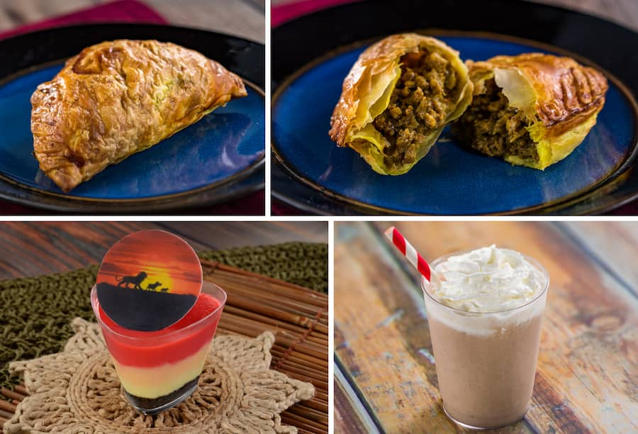 The Lion King Offerings from Refreshment Outpost at Epcot