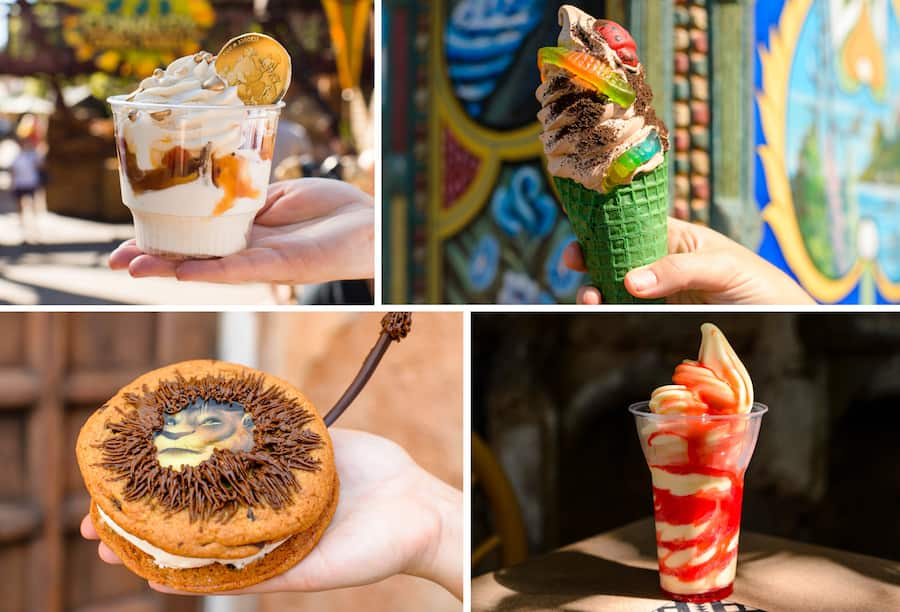 Various Cold Offerings from Disney's Animal Kingdom