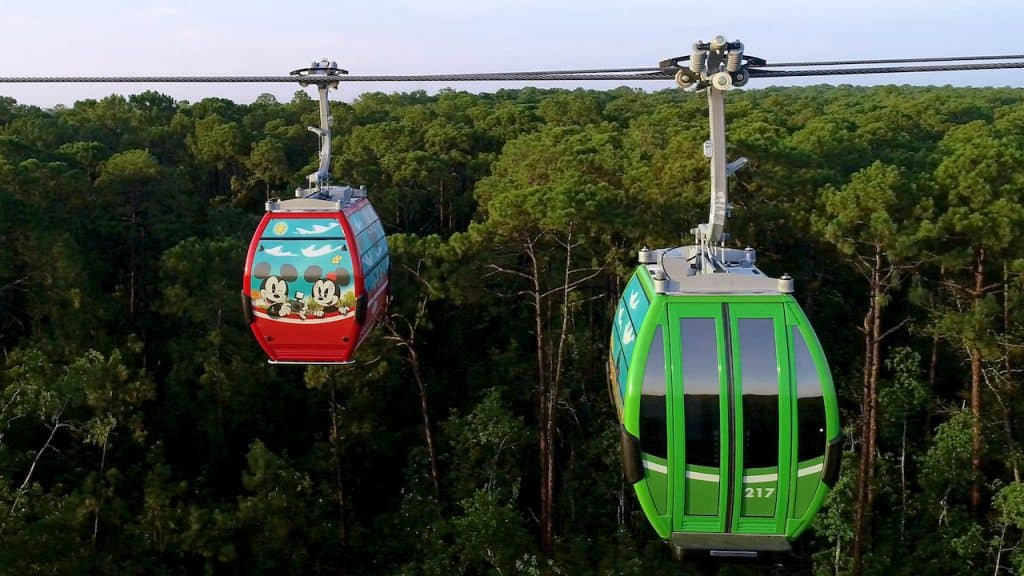 Disney Skyliner Takes Flight on Sept 29, 2019 at Walt Disney World Resort