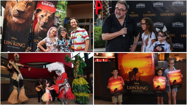 Guests at 'The Lion King' Disney Parks Blog Meet-Up at Disney Springs