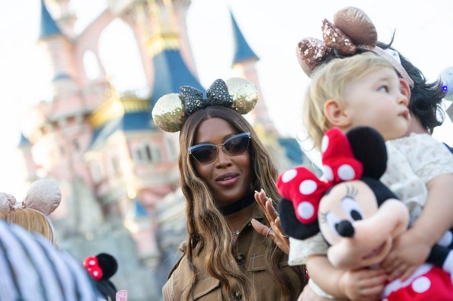 Fashion Model at Disneyland Paris