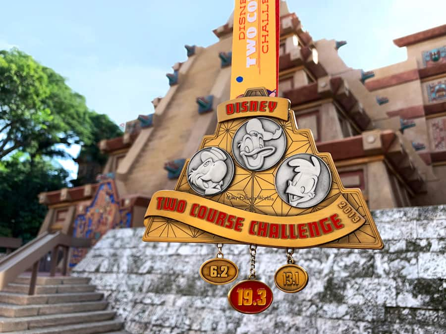 runDisney Disney Two Course Challenge medal