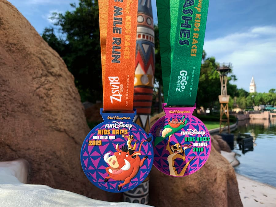 runDisney 2019 runDisney Kids Races presented by GoGo squeeZ® Applesauce medals