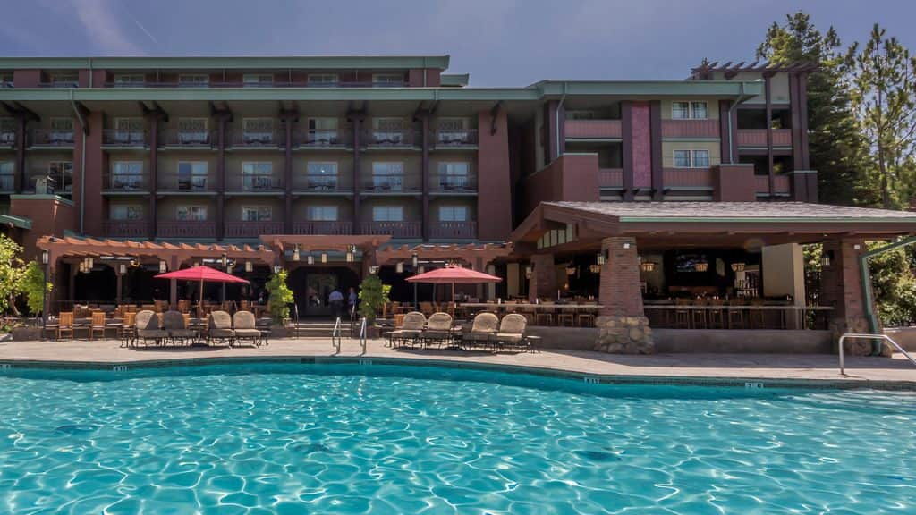 Outside view of GCH Craftsman Bar & Grill at Disney's Grand Californian Hotel & Spa