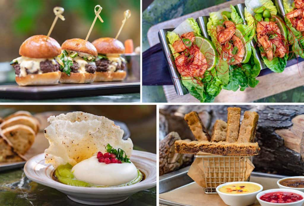 Menu items from GCH Craftsman Bar & Grill at Disney's Grand Californian Hotel & Spa
