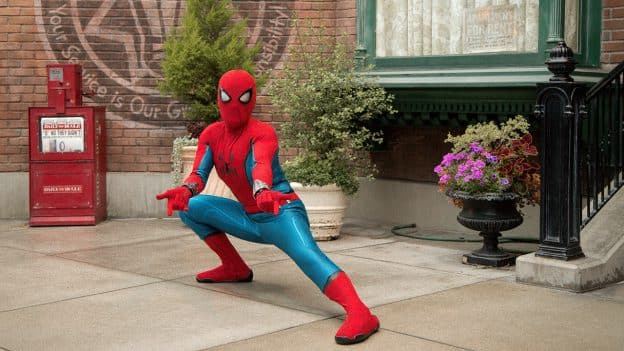 Spider-Man at Disney California Adventure Park