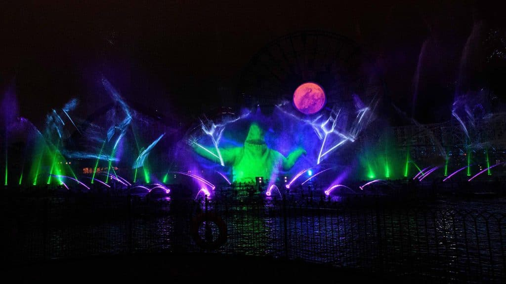 New �World of Color� Show during Oogie Boogie Bash at Disney California Adventure Park