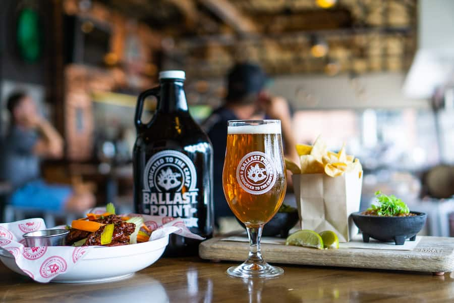 Ballast Point Brewing Co. at the Downtown Disney District