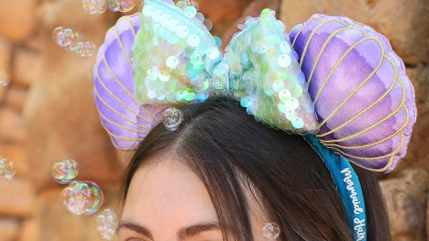'The Little Mermaid'-themed Minnie Mouse ear headband