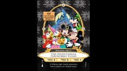 'The Fantasmal Fireworks' Flash' Sorcerers of the Magic Kingdom Card