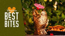 Disneyland Resort Best Bites: August 2019 featuring the Limited Release Golden Piranha Tiki Mug from the Disneyland Hotel