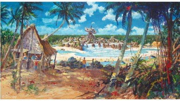 Rendering of Disney's Typhoon Lagoon