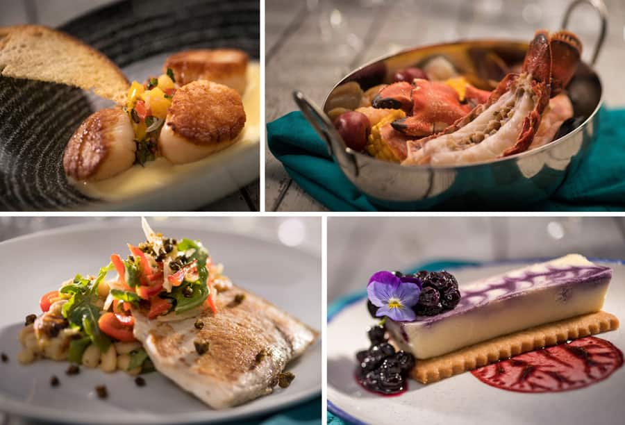 New Menu Items at Coral Reef Restaurant at Epcot