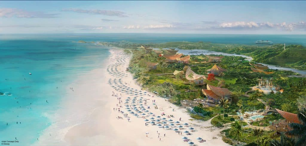 Disney Announces Lighthouse Point Private Island Purchase