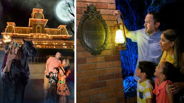 Disney PhotoPass Photo Opportunities During Mickey's Not-So-Scary Halloween Party at Magic Kingdom Park