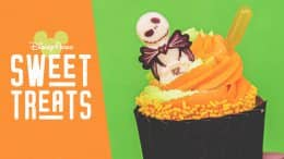Walt Disney World Resort Sweet Treats: August 2019 featuring the Jack's Hallow-Lime Cupcake