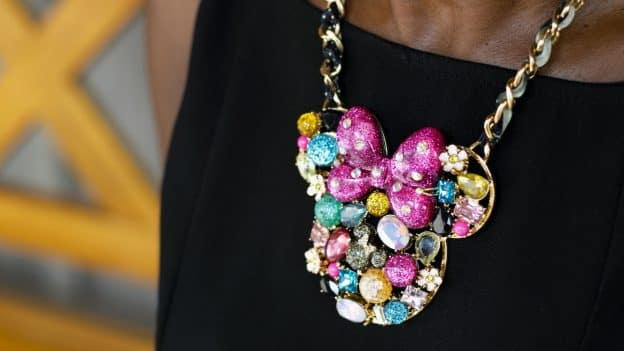Necklace from the Disney Parks Collection x Betsey Johnson collection