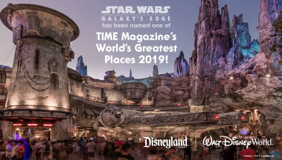 Star Wars: Galaxy's Edge Named One of TIME's 'World's Greatest Places'