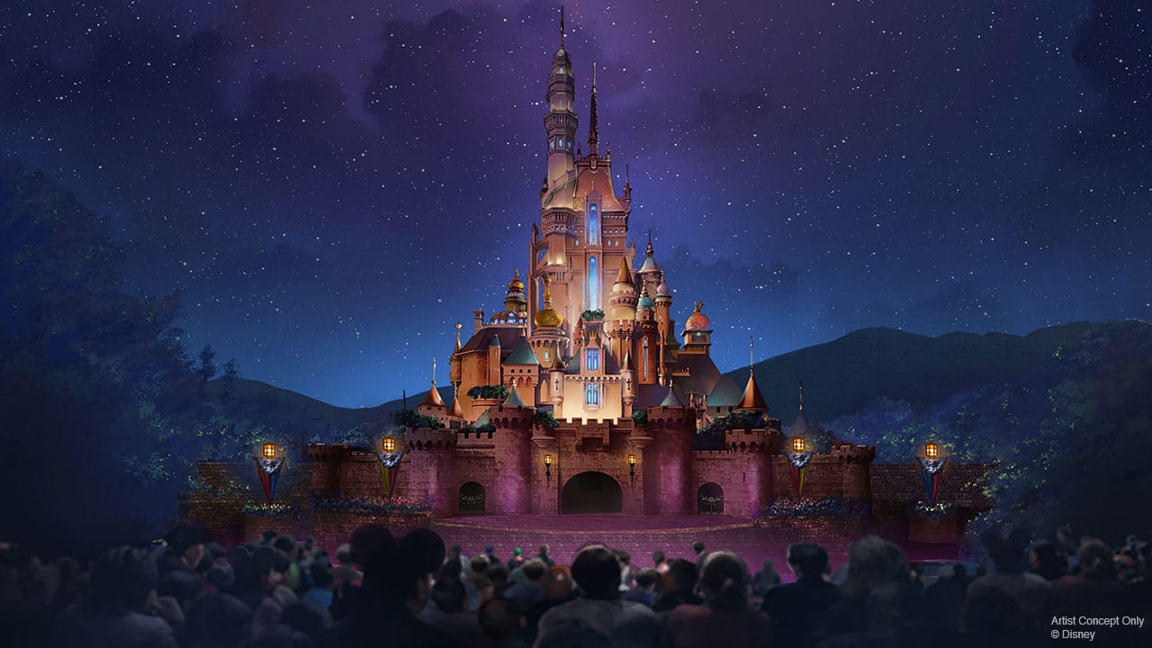 Hong Kong Disneyland Transformation Includes Castle Of Magical Dreams New Frozen Area With Coaster Frozen Ever After Attraction Disney Parks Blog