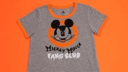 """""""Mickey Mouse Fang Club"""" Halloween T-shirt"""