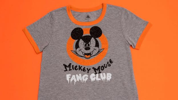 """Mickey Mouse Fang Club"" Halloween T-shirt"