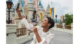 Tamron Hall Visits Magic Kingdom