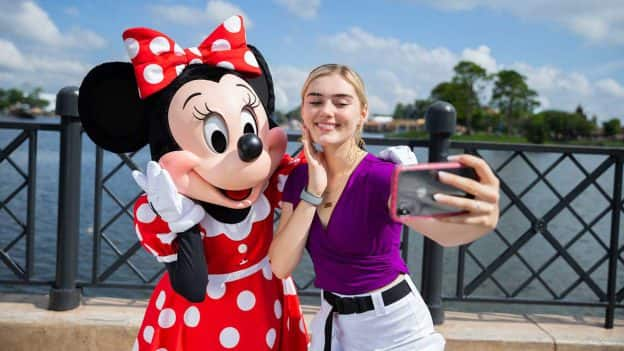 Actress-singer Meg Donnelly Kicks Off First Disney du Jour Dance Party