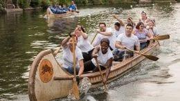 Paddles Up! Disneyland Resort Cast Members Dig