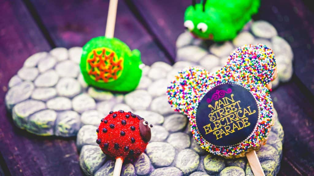 Main Street Electrical Parade Candy Offerings from Candy Palace at Disneyland Park