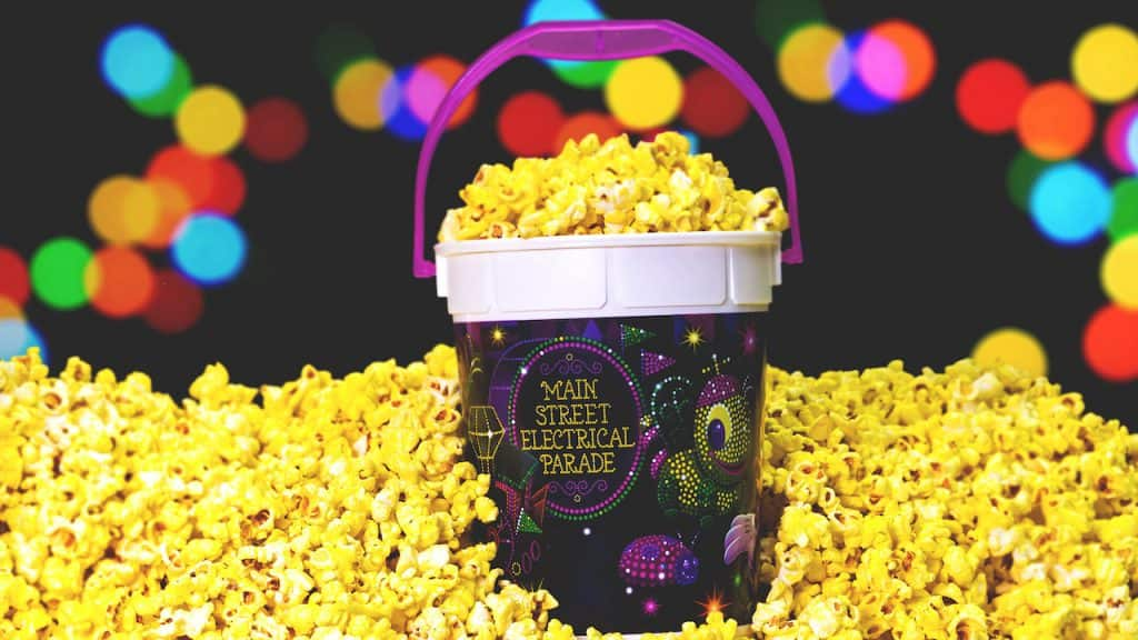 Main Street Electrical Parade Popcorn Bucket at Disneyland Park