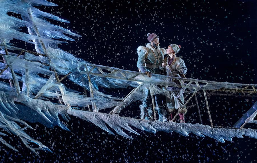 Frozen on Ice, Disney on Broadway