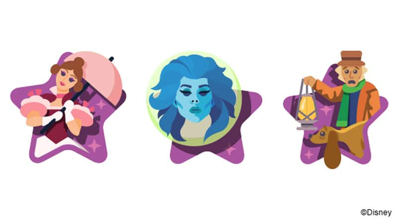 Haunted Mansion 50th Anniversary icons