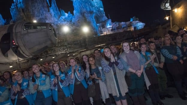 Opening Team of Star Wars: Galaxy's Edge at Disney's Hollywood Studios
