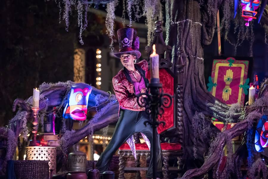 """Frightfully Fun Parade"" at Oogie Boogie Bash – A Disney Halloween Party at Disney California Adventure Park"