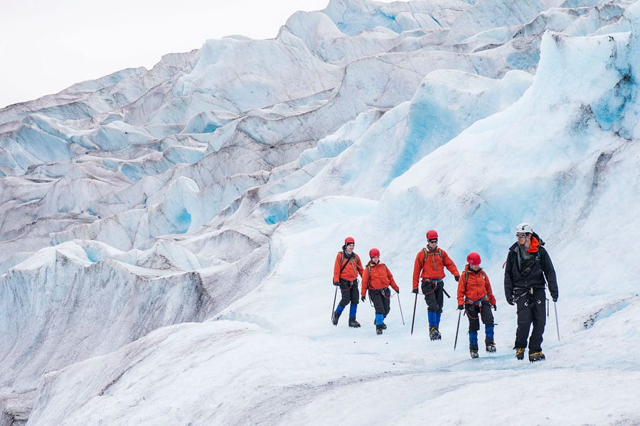 Glacier hiking in Alaska with Disney Cruise Line